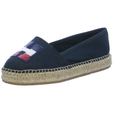 Tommy Hilfiger Top Trends Slipper blau