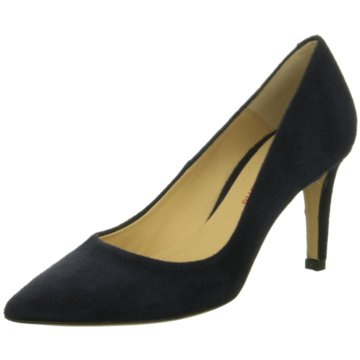 Perlato Pumps blau