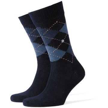 Burlington Socken blau