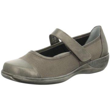 Stuppy Komfort Slipper grau