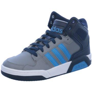 adidas Sneaker HighBB9TIS Mid K grau