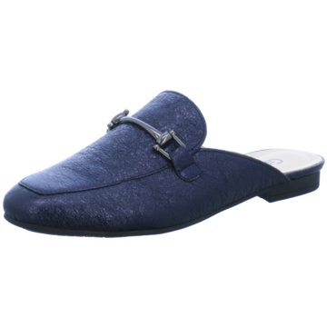 Gabor Mules Pantoletten blau