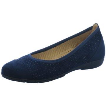 Gabor Klassischer Ballerina blau