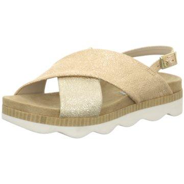 Tosca Blu Sandale gold