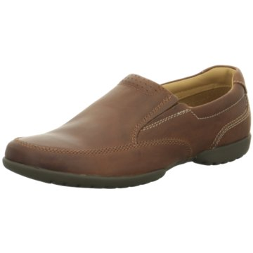 Clarks Komfort Slipper braun