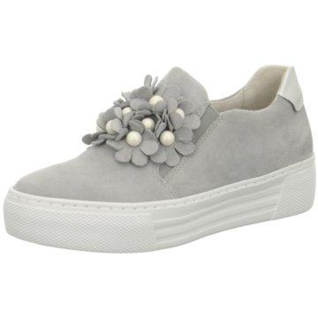 Gabor Plateau SlipperSneaker grau