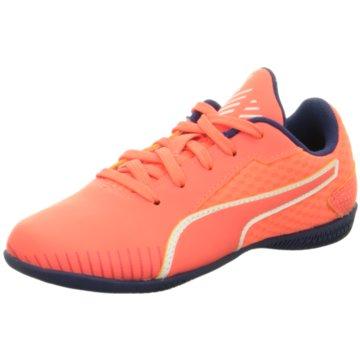 Puma Trainings- und Hallenschuh orange