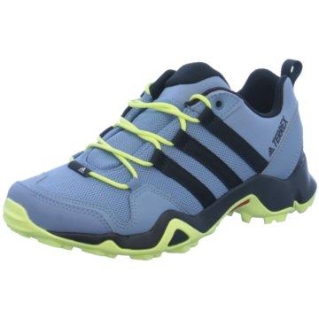 adidas Hikingschuhe blau
