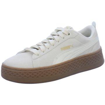 Puma Plateau Sneaker weiß