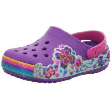 CROCS Offene Schuhe lila