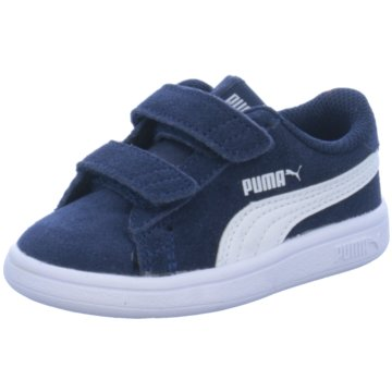 Puma Sneaker Low SMASH V2 SD V INF - 365178 blau