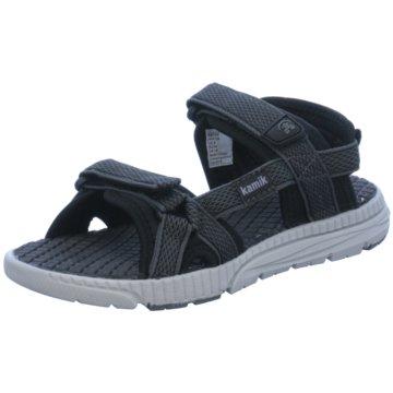 KAMIK Offene Schuhe schwarz