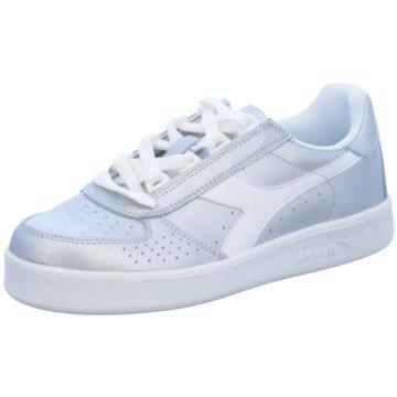 Diadora Sneaker Low silber