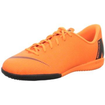 Nike Trainings- und HallenschuhJr. Mercurial Vapor 12 Academy IC orange