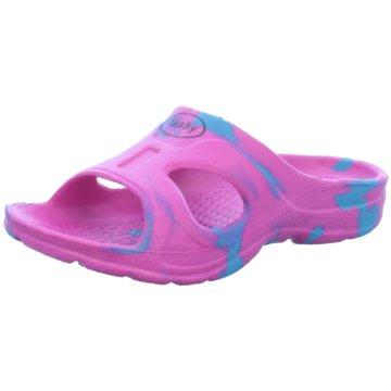Fashy Offene Schuhe pink