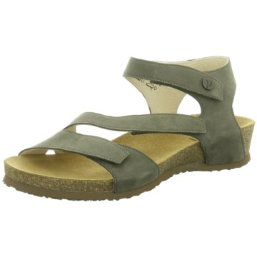 Think Komfort Sandale grün