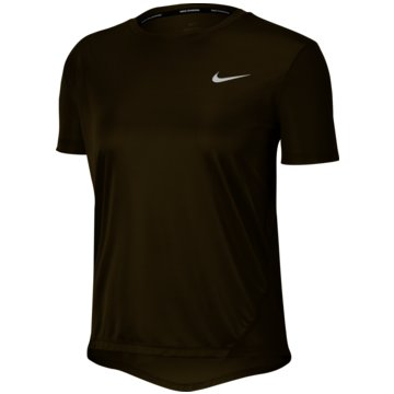 Nike T-ShirtsMiler Women's Short-Sleeve Running Top - AJ8121-368 schwarz