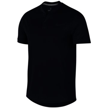 Nike PoloshirtsCOURT DRI-FIT - AQ7732-451 schwarz