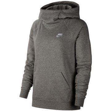 Nike HoodiesW NSW ESSNTL FNL PO FLC - BV4116 grau