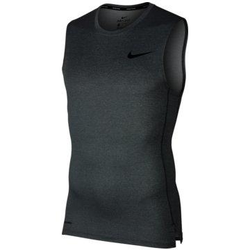 Nike TanktopsPro Tight Top SL grau