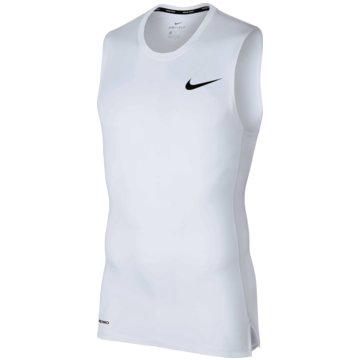 Nike TanktopsPro Tight Top SL weiß