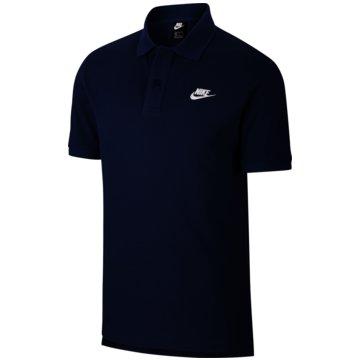 Nike PoloshirtsSPORTSWEAR - CJ4456-410 schwarz