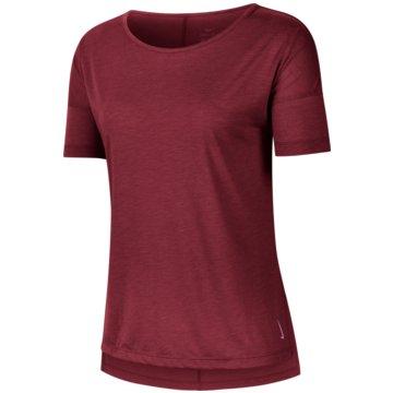 Nike T-ShirtsNike Yoga Women's Short-Sleeve Top - CJ9326-614 pink