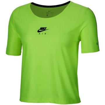 Nike LangarmshirtAir Women's Short-Sleeve Running Top - CU3058-702 grün