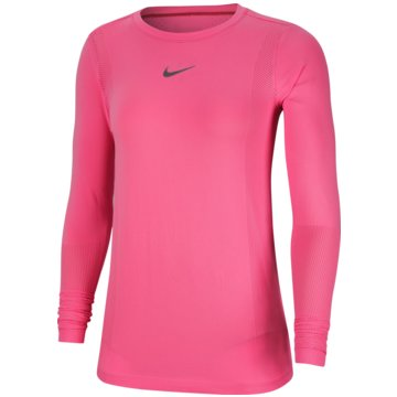 Nike SweatshirtsNike Infinite Women's Long-Sleeve Running Top - CU3122-607 rosa