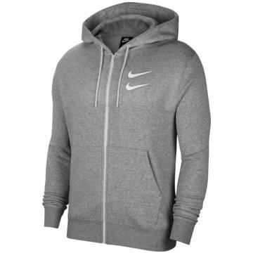 Nike SweatjackenNike Sportswear Swoosh Men's Full-Zip Hoodie - CU3901-063 grau