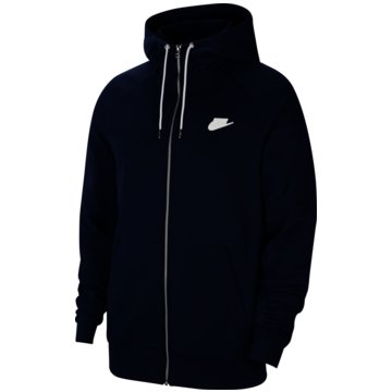 Nike SweatjackenNike Sportswear Men's Full-Zip Fleece Hoodie - CU4455-410 schwarz