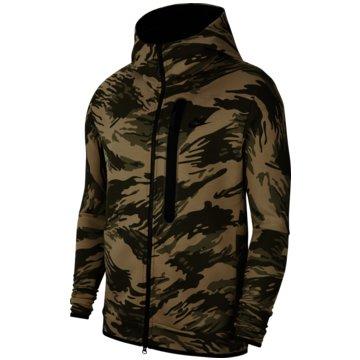 Nike SweatjackenNike Sportswear Tech Fleece Men's Full-Zip Camo Hoodie - CU4491-342 -