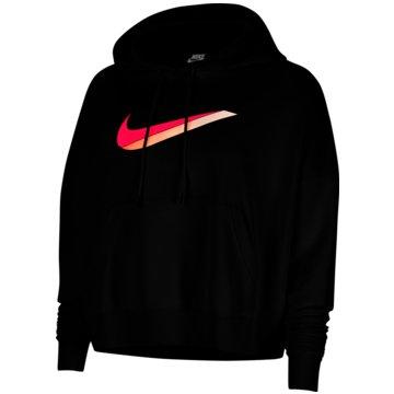 Nike SweaterNike Sportswear Women's Fleece Hoodie - CU5108-010 schwarz