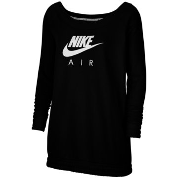 Nike SweatshirtsNike Air Women's Fleece Long-Sleeve Top - CU5426-010 schwarz