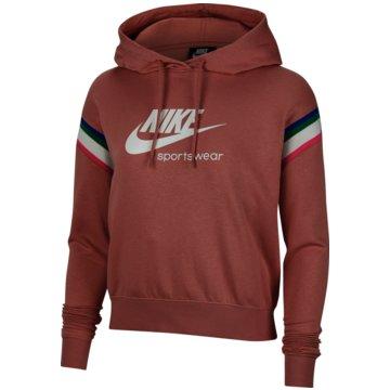 Nike HoodiesHeritage Women's Pullover Hoodie - CU5923-685 rot