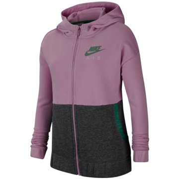 Nike SweatjackenNike Air Big Kids' (Girls') Full-Zip Hoodie - CU8302-676 -