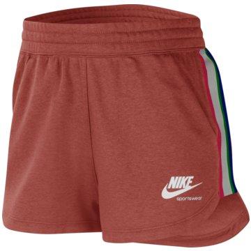 Nike kurze SporthosenHeritage Women's Fleece Shorts - CU8399-685 rot