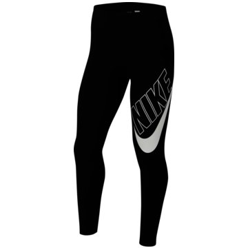 Nike TightsNike Sportswear Favorites Big Kids' (Girls') Graphic Leggings - CU8943-010 schwarz
