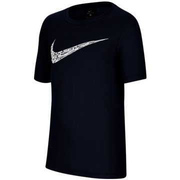 Nike T-ShirtsNike Big Kids' (Boys') Short-Sleeve Training Top - CU9119-410 -