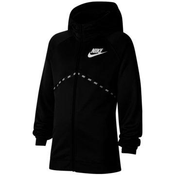 Nike SweatjackenSportswear Big Kids' (Boys') Full-Zip Hoodie - CU9193-010 schwarz