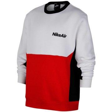 Nike SweatshirtsNike Air Big Kids' (Boys') Long-Sleeve Crew - CU9210-100 -