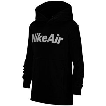 Nike SweatjackenNike Air Big Kids' (Boys') 1/2-Zip French Terry Pullover Hoodie - CU9297-010 schwarz