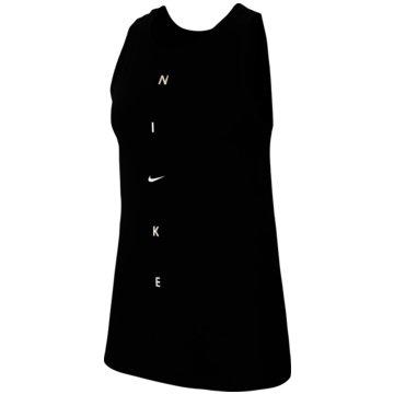 Nike TopsDri-FIT Get Fit Women's Training Tank - CW7288-010 schwarz