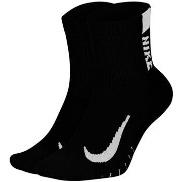 Nike Hohe SockenMULTIPLIER - SX7556-010 schwarz