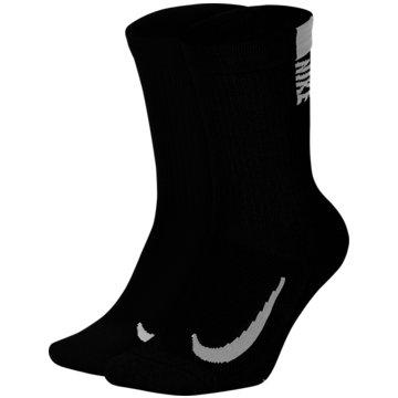 Nike Hohe SockenMULTIPLIER - SX7557-010 schwarz