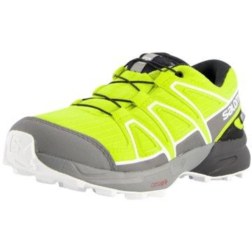 Salomon Outdoor Schuh gelb