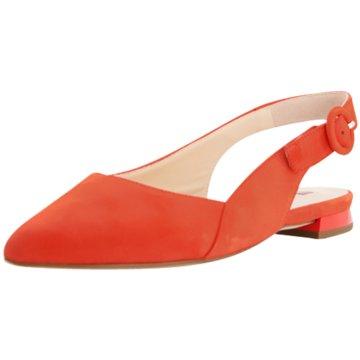 Högl Sling BallerinaSlingback orange