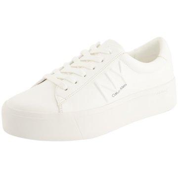 Calvin Klein Top Trends Sneaker weiß