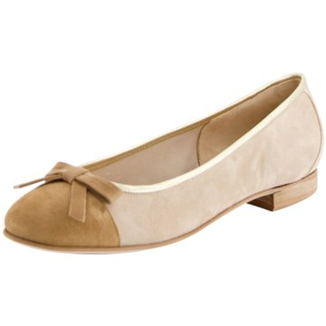 Gabriele Eleganter Ballerina beige