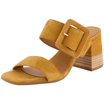 Alpe Woman Shoes Top Trends Pantoletten braun